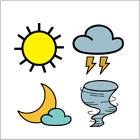Weatherman stamps