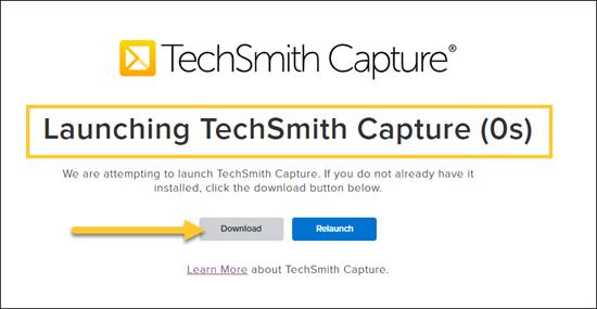 Download TechSmith Capture