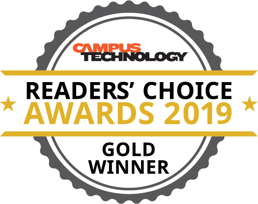 Campus Technology Reader's Choice Award 2019 logo