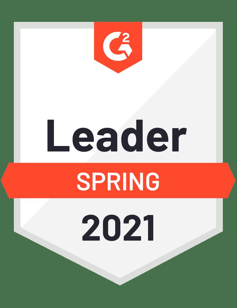 Award icon- Leader spring 2021