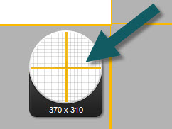 Image of the Magnifier in Snagit(Windows)