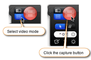 choose mode then capture