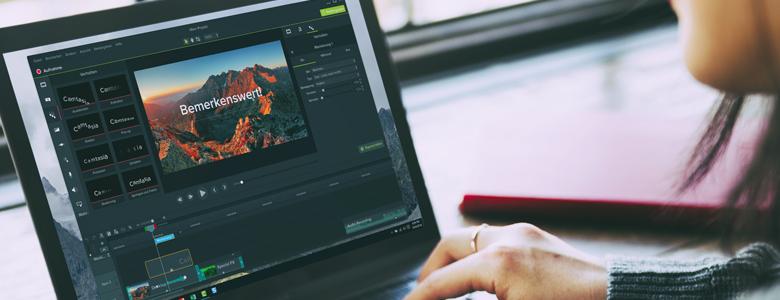 Camtasia Video Editor