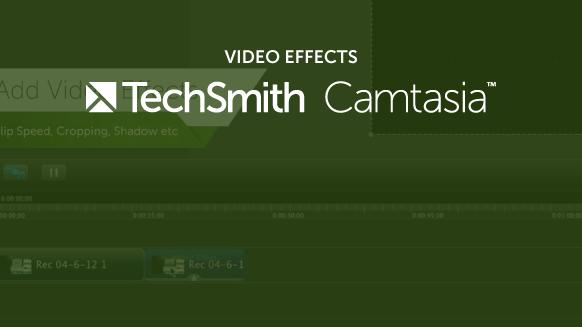 은 Camtasia 비디오 효과