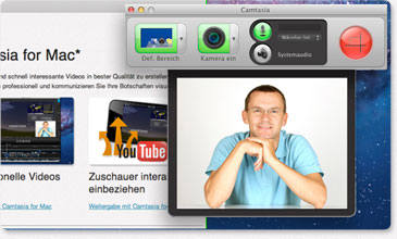 Camtasia for Mac Screen-Recording