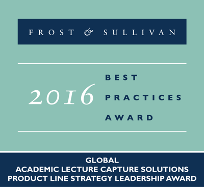 TechSmith Fronst and Sullivan Award