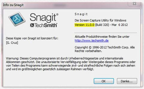 About Snagit