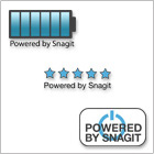 powered by snagit stamp