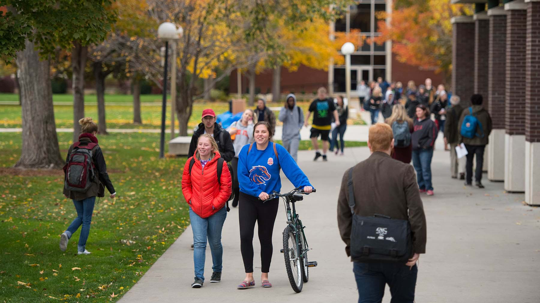 Boise State increased student engagement