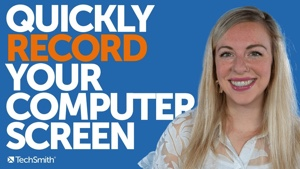 Quickly record your computer screen video thumbnail.