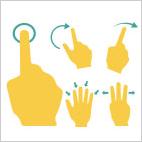 Gestures Stamps