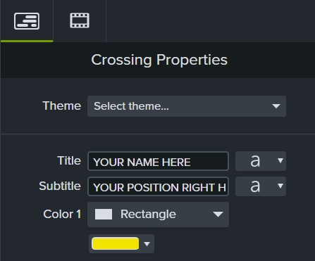 image of lower-thirds properties panel