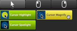 Cursor Effects tab