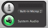 System audio