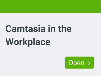 Link to Camtasia in the Workplace channel
