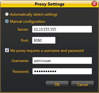 authenticated proxy