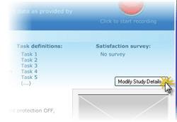 Modify study details