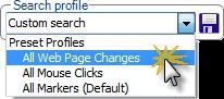Choose a Search Profile