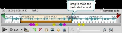 Edit task duration