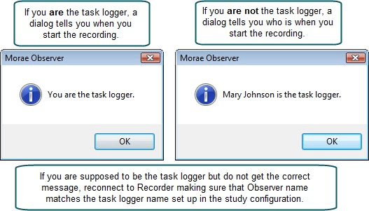 Task Logging example