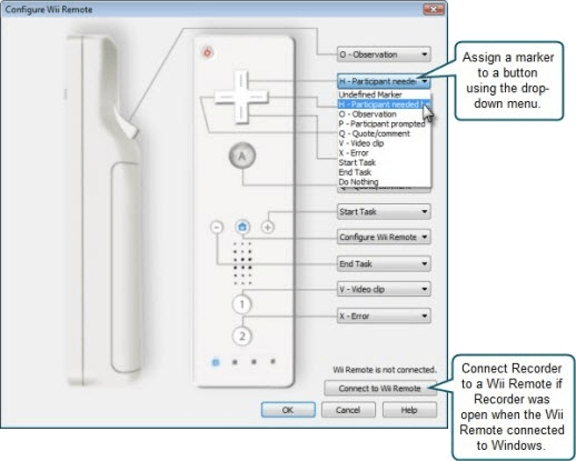Remote Configuration Dialog Box