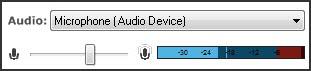 Choose audio source.