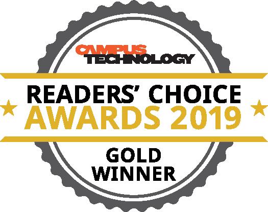 Campus Technology Reader's Choice Awards 2019 logo
