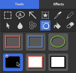 Shape tool