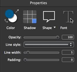 Font button