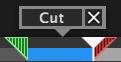 Cut button