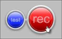 TechSmith Relay Recorder Record button