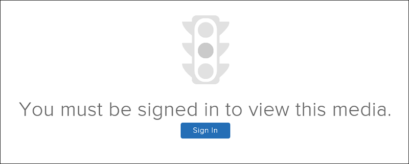 sign-in dialog with blue sign in button