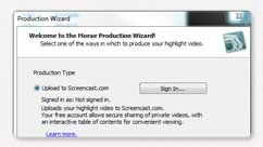 Upload to Screencast.com